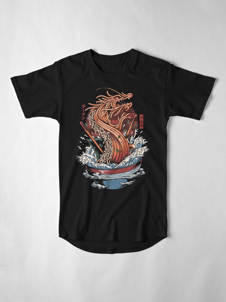 Alternate view of Ramen Dragon Long T-Shirt