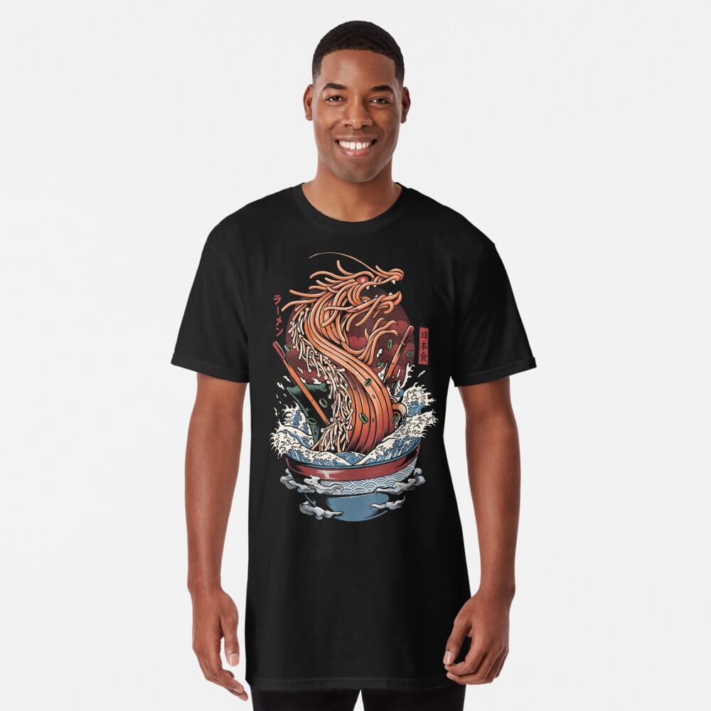 Ramen Dragon Long T-Shirt