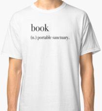 Book - Portable Sanctuary Classic T-Shirt
