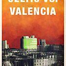 Celtic vs Valencia Match Poster by madebyfrankie