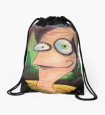 Artsy Fartsy Jim Drawstring Bag