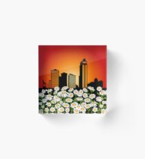 Urban pick Acrylic Block