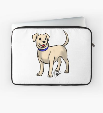 Yellow Lab Laptop Sleeve