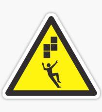 Look Out! Tetris! Sticker