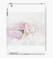 Lavender Roses And Music iPad Case/Skin