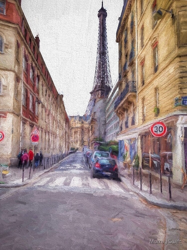 Eiffel Tower Paris by Murray Swift