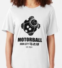 Motorball - Iron City's favourite sport (inspired by Alita) Slim Fit T-Shirt