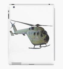 Helicopter Indian Air Force Naive Painting iPad Case/Skin