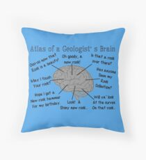 Geologist Humor Throw Pillow