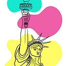 Lady Liberty Brights Collection by Adam Regester