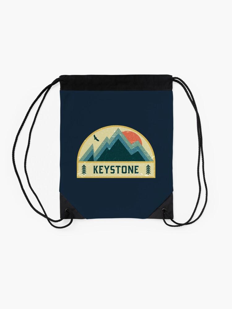 Alternative Ansicht von Keystone Retro Berg Abzeichen Turnbeutel