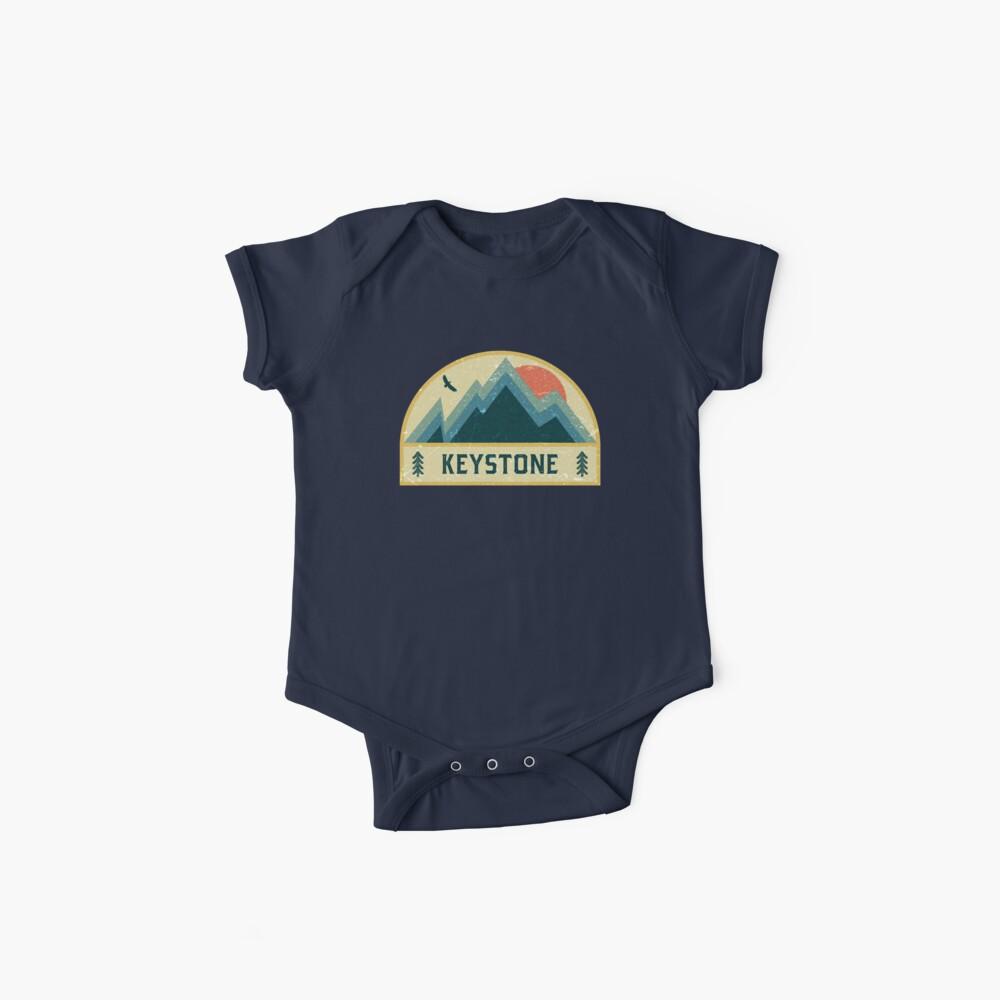 Keystone Retro Berg Abzeichen Baby Body