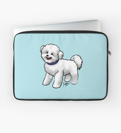Bichon Frise Laptop Sleeve