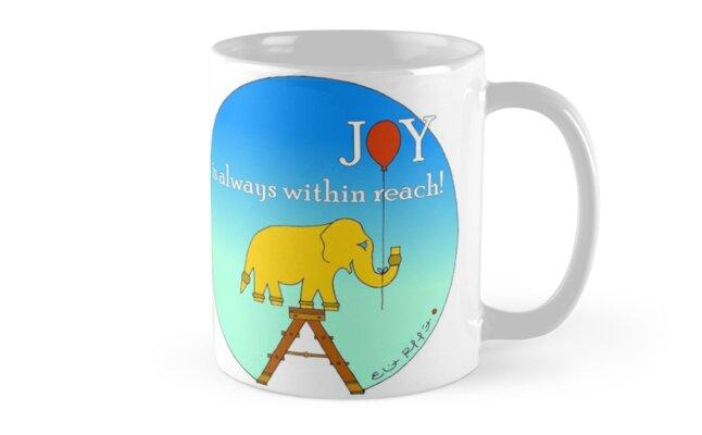 Joy is always within reach!  by EliotRaffit