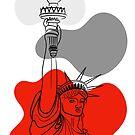 Lady Liberty by Adam Regester