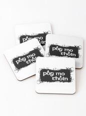 Pog Mo Thoin Coasters