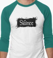 Slainte - Irish Toast Baseball ¾ Sleeve T-Shirt