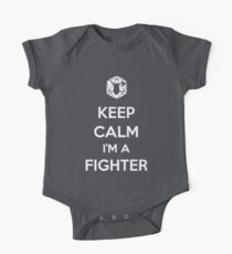 Keep Calm I'm a Fighter One Piece - Short Sleeve