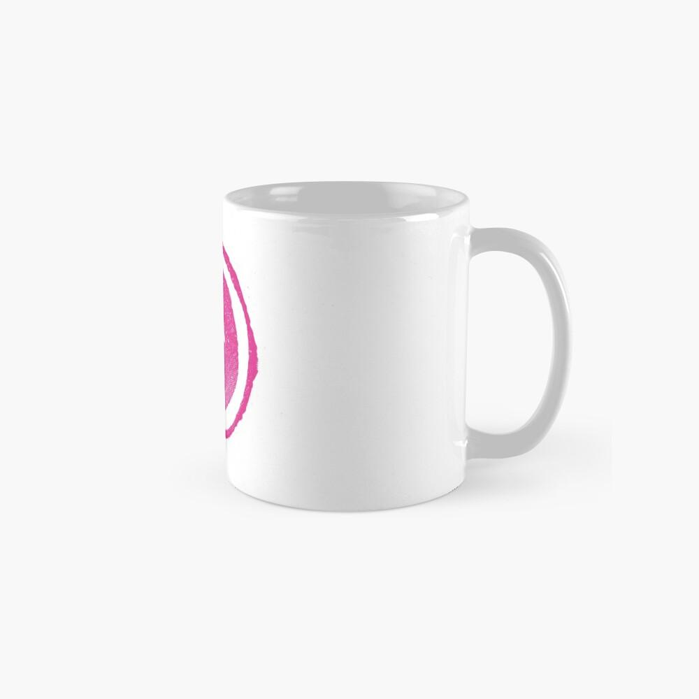 Ozeane über Alderaan - rosafarbenes Logo Tassen