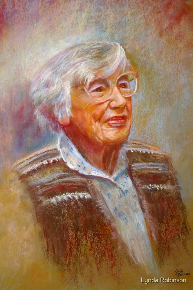 Portrait of Isobel by Lynda Robinson