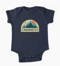 Mammoth Retro Mountain Badge One Piece - Short Sleeve