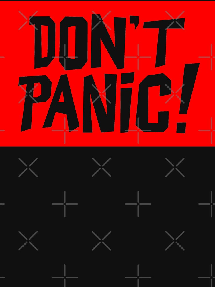 NDVH Don't Panic - Red 2 by nikhorne
