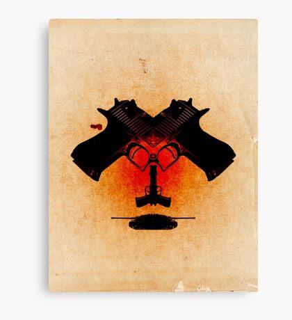 Dangerous Play Canvas Print