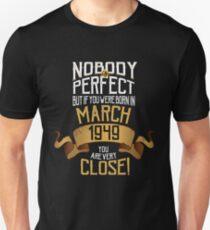 70 Year Old Birthday Gift Unisex T Shirt
