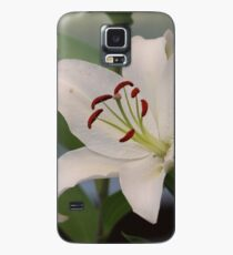 White Oriental Lily Case/Skin for Samsung Galaxy