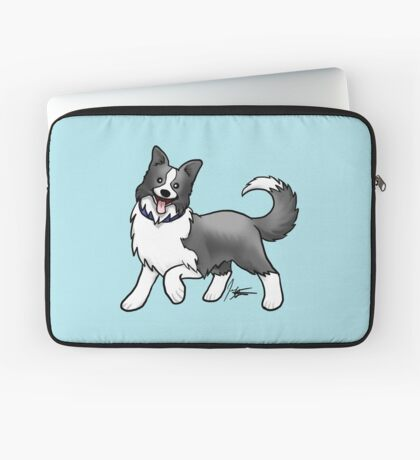 Border Collie Laptop Sleeve