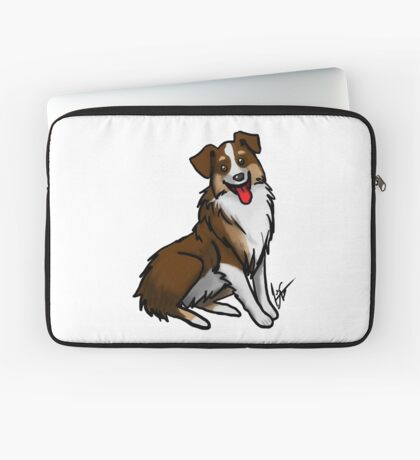 Australian Shepherd - Tri Color Laptop Sleeve
