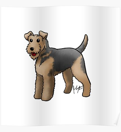Airedale  Poster
