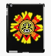 Sonnenzeichen II iPad-Hülle & Klebefolie