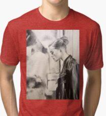 Street Lamps Tri-blend T-Shirt