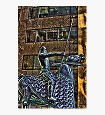Tin Man Tin Horse Photographic Print