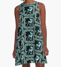 Unicorn Framed A-Line Dress