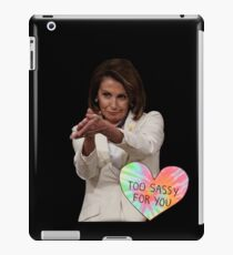 "Nancy Pelosi ""SOTU Sass"" iPad Case/Skin"