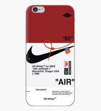 Aus weißen Sneakers AJ AIR iPhone-Hülle & Cover