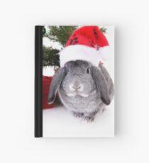 Christmas Rabbit Hardcover Journal