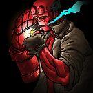 Hellboy by B-Dawg-Drawls