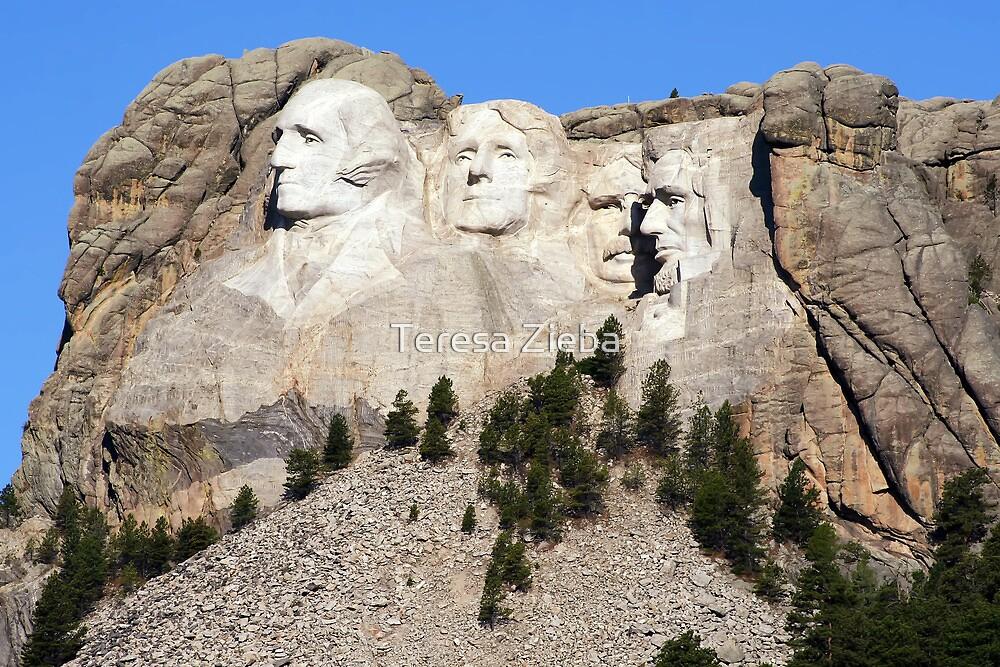 Mount Rushmore, South Dakota, USA by Teresa Zieba