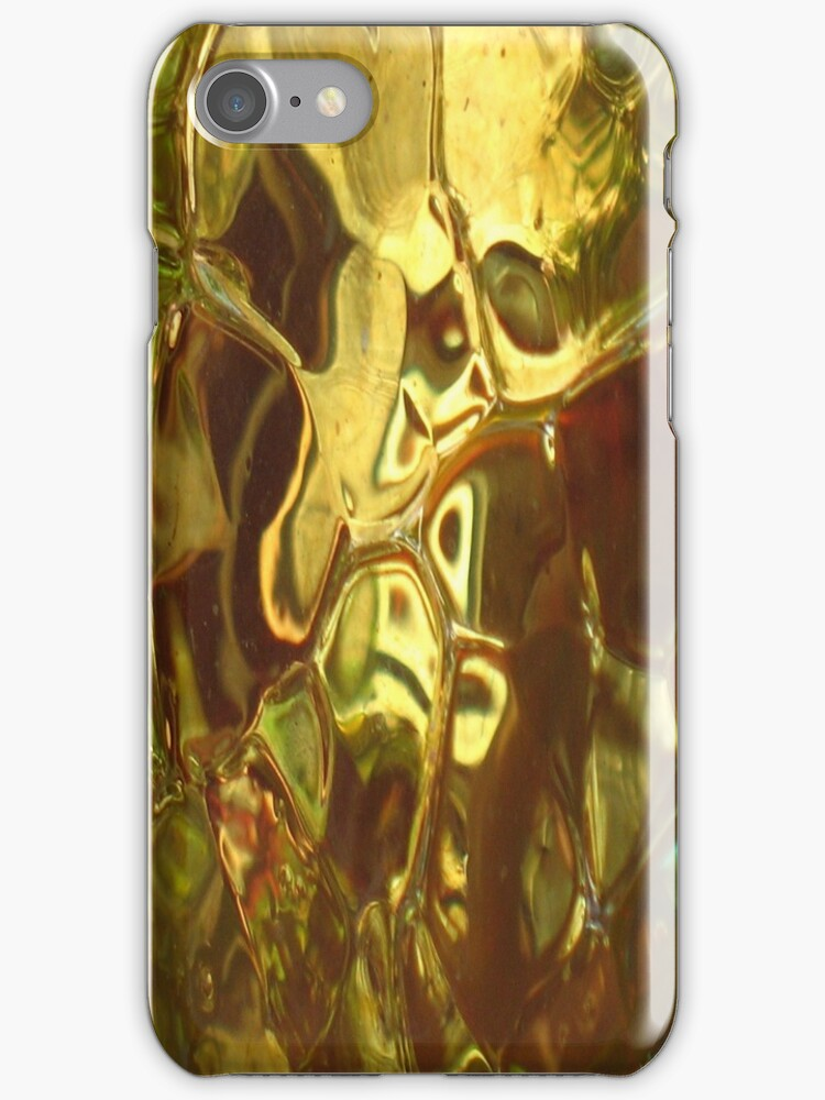 Gold ~ Glass Object - JUSTART © by JUSTART