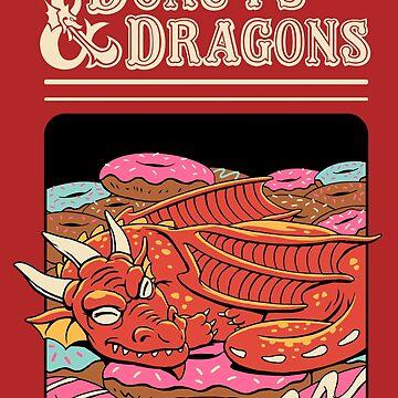Donuts and Dragons by vincenttrinidad