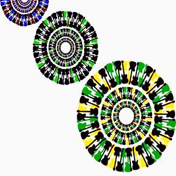 Guitar Circles by DitchFitch