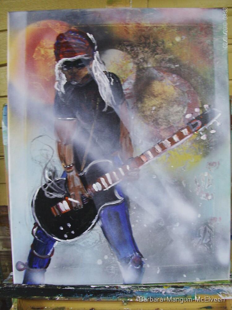 Rocker by Barbara  Mangum-McElveen