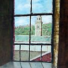 ( VIEW THROUGH SALTAIR MILL WINDOW.) by ejameson