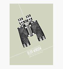 Rear Window - Alternative Movie Poster Photographic Print
