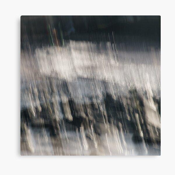 Beach Abstract One Canvas Print