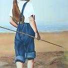"""Where Next"" Water Colour Airbrush Art by John D Moulton"