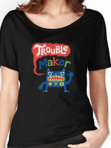 Trouble Maker - dark T-shirt femme coupe relax
